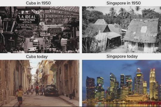 Cuba Của Fidel Castro & Singapore Của Lee Kuan Yew